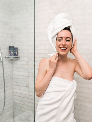 healthy hair care method