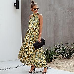 flowy maxi dresses for women