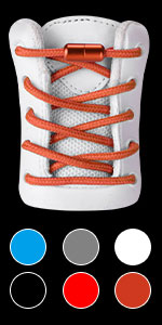 Round Athletic No Tie Shoelaces