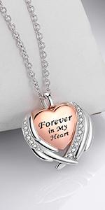urn necklace sterling silver