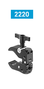 Impact Double Ball Joint Head with Super Clamp and Camera Platform Kit