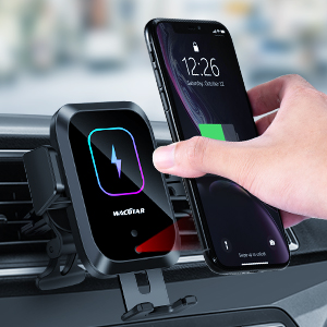 15W/10W Qi Fast Charging Car Charger