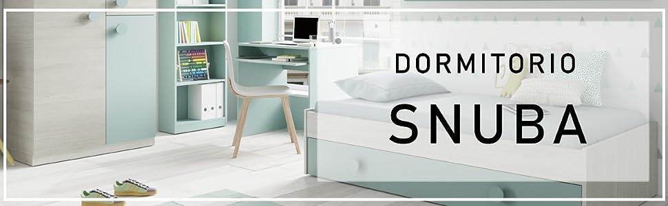 dormitorio snuba