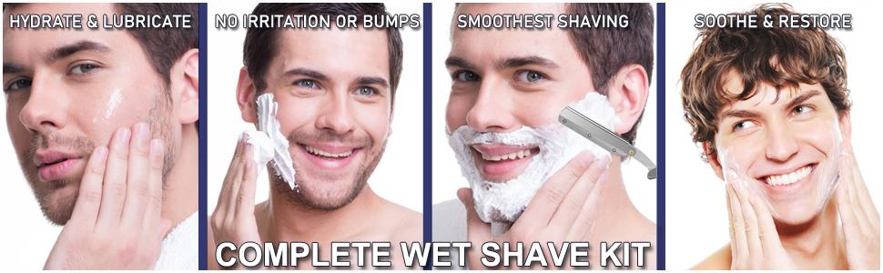 Complete Wet Shave Kit