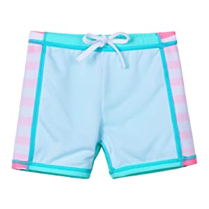 girl swimsuit two piece blue
