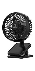 6 Inch Clip and Desk Fan
