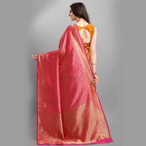Woven Kanjeevaram Pallu Design