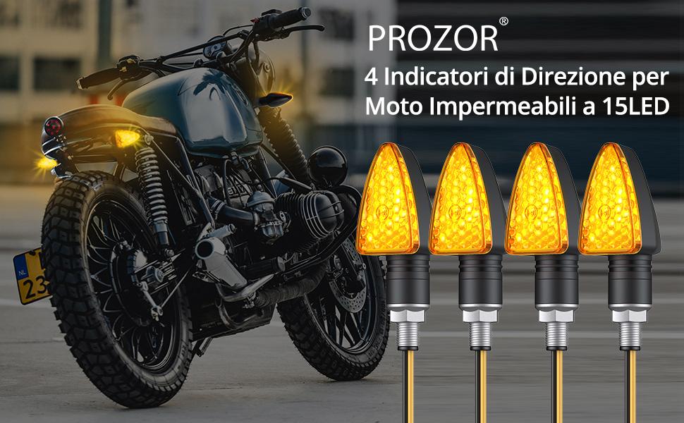 indicatori di direzione a LED anteriori e posteriori per moto indicatori di direzione lampeggianti per Kawasa-ki ZX-6R 7R 9R 12R EX 500R NINJA GPZ ZR-X ZX-R Artudatech