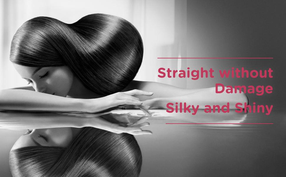 hair straightener brush,hot tools,hair brush