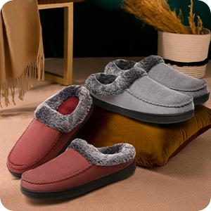 women memory foam slippers