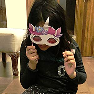 Best unicorn gifts for little girls. Exciting mask keeps them excited after completing the puzzle