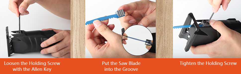 change the saws