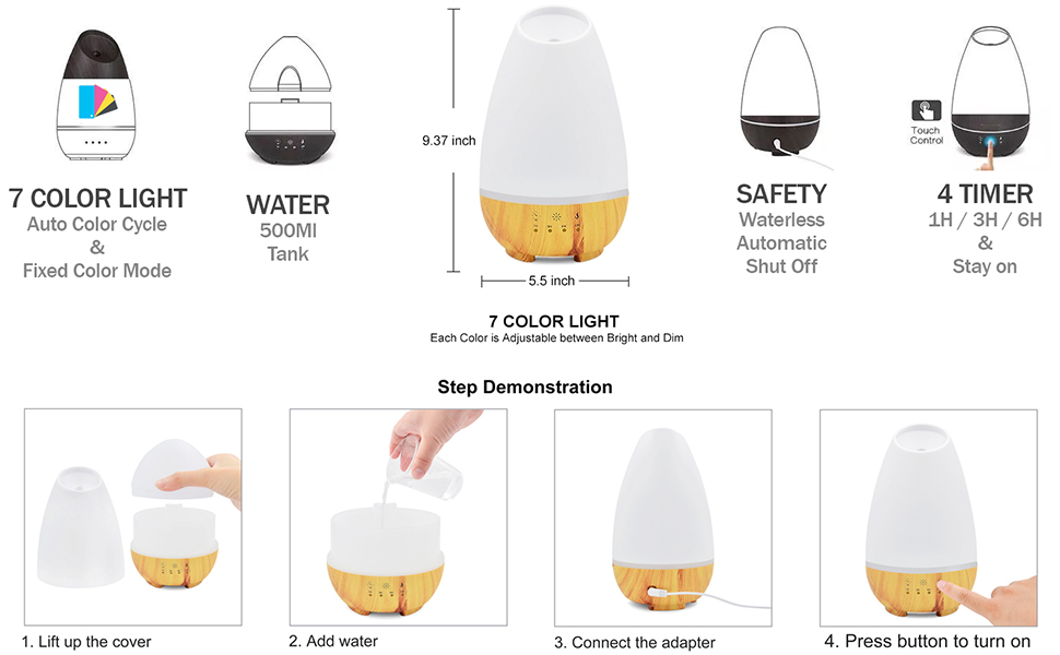 Aromatherapy oil diffuser
