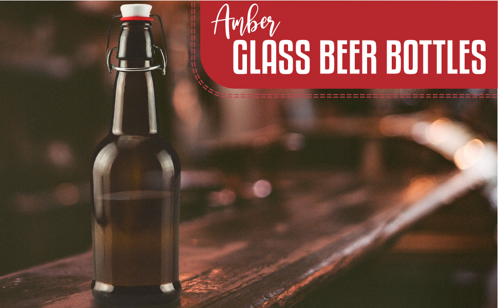 Ilyapa Amber Beer Bottles