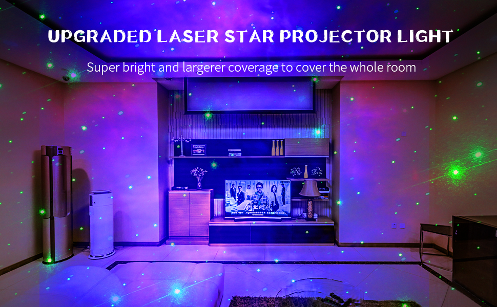Amazon Com Galaxy Projector Capaboo Dynamic Christmas Projection Lights Star Projector Night Light For Kids Bedroom Decor Party Home Improvement