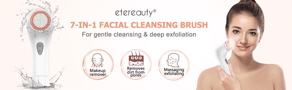 facial brush skin cleansing