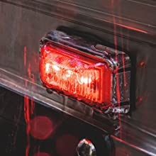 """2.5"""" Clearance Marker Light Amber"""