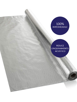 1,2 m x 20 m soffitti 100/% impermeabile tetti 24 mq di copertura Isolamento termico per pareti Barriera al vapore e membrana impermeabile SFTV1L previene muffe e umidit/à in casa pavimenti