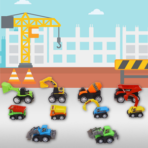 PACKAGE Content Set of 10 Truck Set