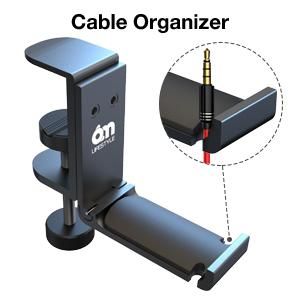 desk headphone hanger clamp