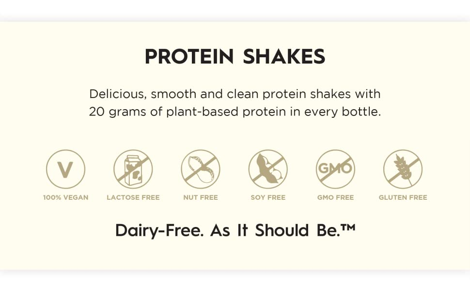 Ripple Protein Shakes value props