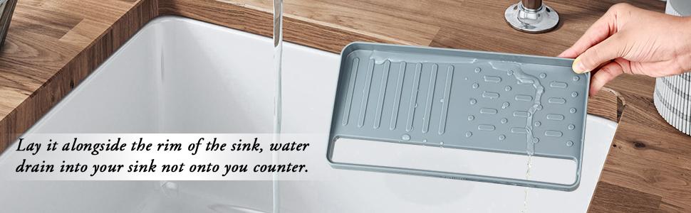 Kitchen sink caddy sponge holder scratcher holder cleaning brush holder sink organizer for dish soap