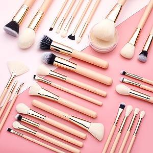 large makeup brushes