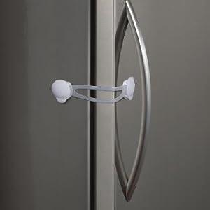 Kidco Flexible Strap Lock Appliances Cabinets Lazy Susans All Purpose Lock