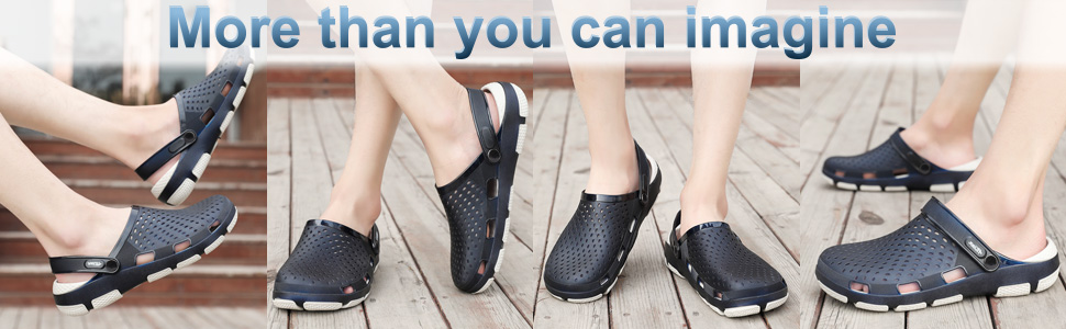 Beister stylish cushioned clogs will share with you those precious moments in summer