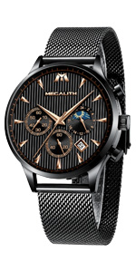 orologio uomo nero