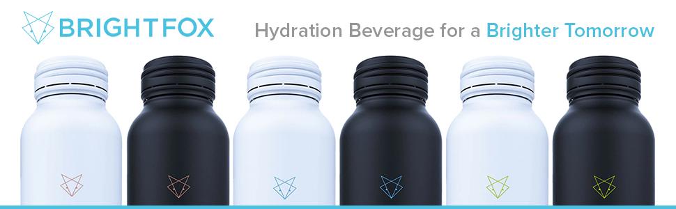 brightfox, hydration beverage, beverage, fitness beverage, recovery beverage, sports drink
