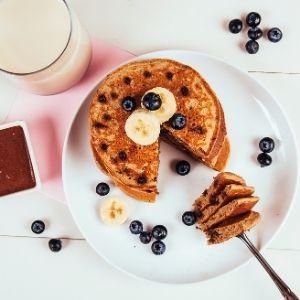 Chocolate Chip Pancake and Waffle Mix 4 Pack Breakfast Hotcake