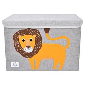 children toy storage chest animal organizer container cube toy box for girls