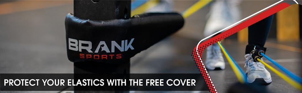 gratis cover om uw fitness latex banden te beschermen
