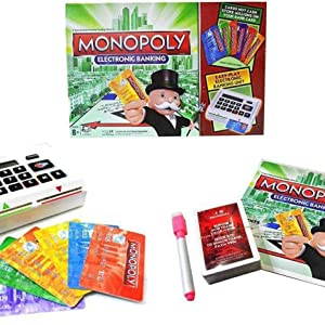 card game board game vyapar game with banking unit