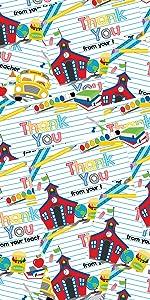 thank you from teacher