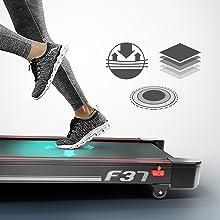 Sportstech F37 Cinta Correr Plegable Profesional con certificación ...