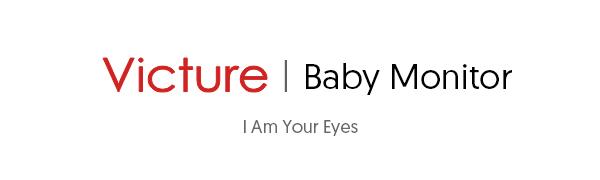 """Victure Baby Monitor, Videocamera Babyphone con VOX Visione Notturna Visione di Temperatura 8 Ninne Nanne Audio a Due Vie, Attivazione Vocale, Telecamere con Schermo da 3.2"""" LCD"""