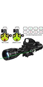 4-12x50AO rifle scope