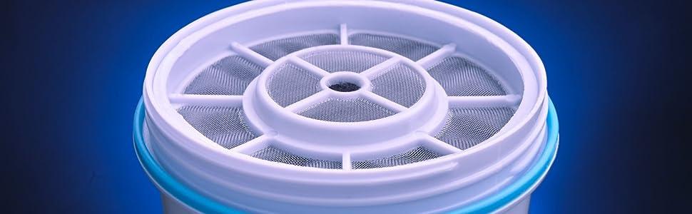 ZeroWater Cartuchos de Filtro de Agua de Repuesto (Paquete de 1) Libre de BPA y certificados para Reducir el Plomo y Otros Metales Pesados: Amazon.es: Hogar