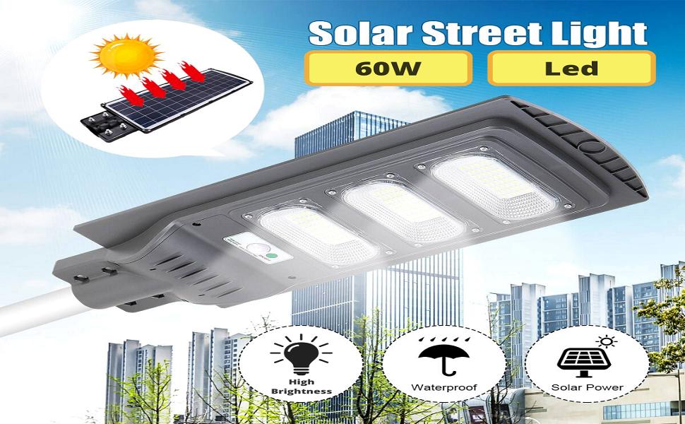 D'Mak 60W Led Solar Street Light