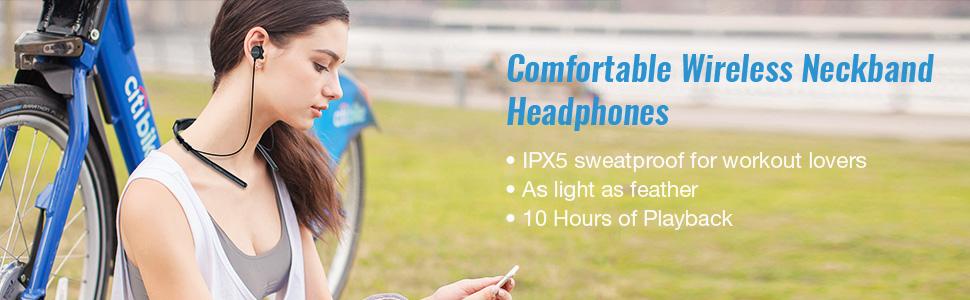 HE6 Bluetooth earphones wireless earbuds in ear headphones
