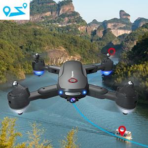 Flashandfocus.com e97cf762-5387-4424-9042-c055022b4c86.__CR0,0,300,300_PT0_SX300_V1___ GPS Drone with 4K Camera for Adults, Dual Camera 5G WiFi FPV Live Video Foldable Drone 30mins Flight Time,120°Wide-Angle…