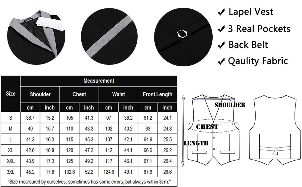 casual vest for men
