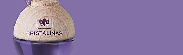 Amazon.es: CRISTALINAS 3x2 ambientador Esfera Coche. Aroma MORAS. Mas de Dos Meses de duracion. sin Alcohol.