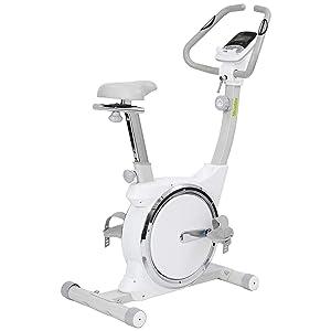 Niceday Brilliant Magnetic Upright Exercise Bike 2 Way Flywheel Cardio Workout