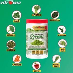 Super Foods of Amazing Greens