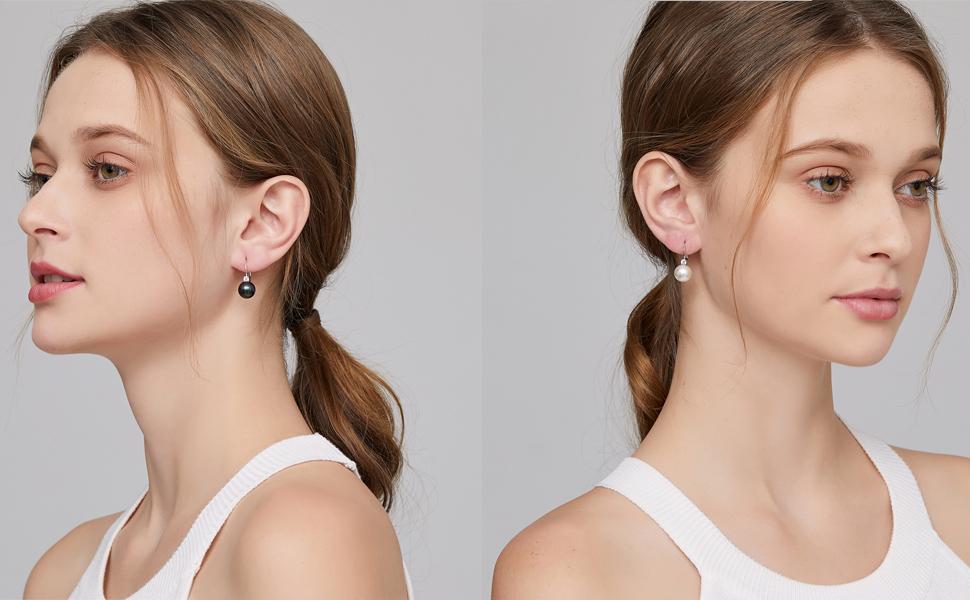 perle orecchini