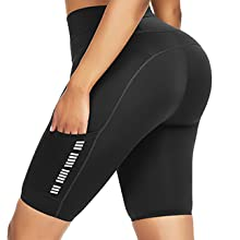 knee length workout shorts for women yoga pants athletic activewear