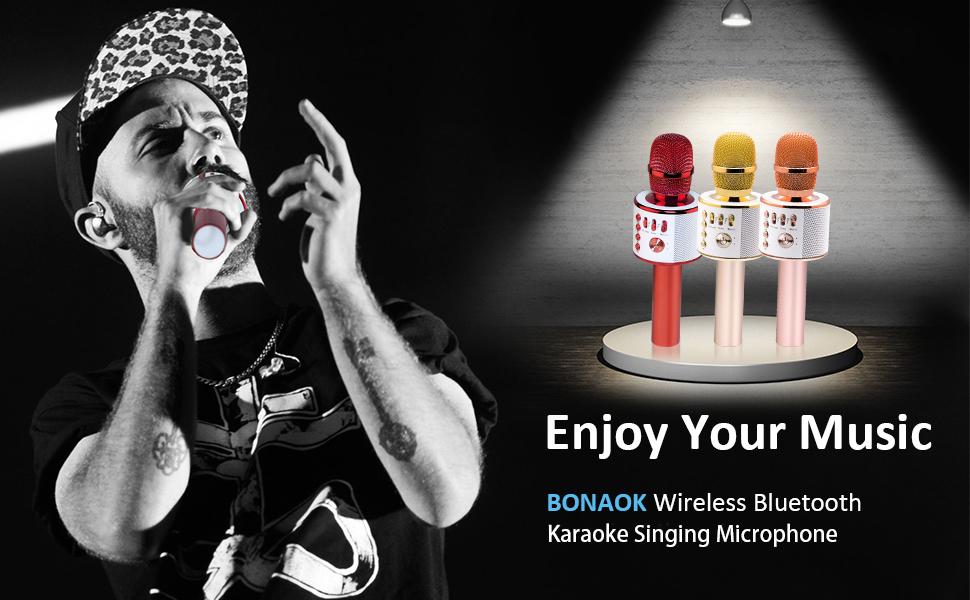 singing microphone